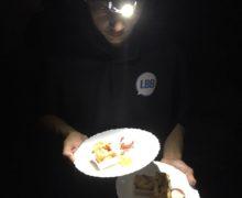 LBB : Un lumineux repas dans le noir !