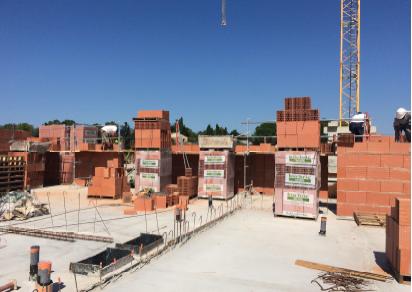 MAS : Point de l'avancement construction