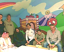 MECS LTR : fresque artistique à Villeneuve les Maguelone