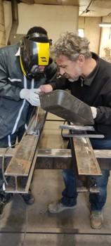 Atelier de ferronnerie des SAJ