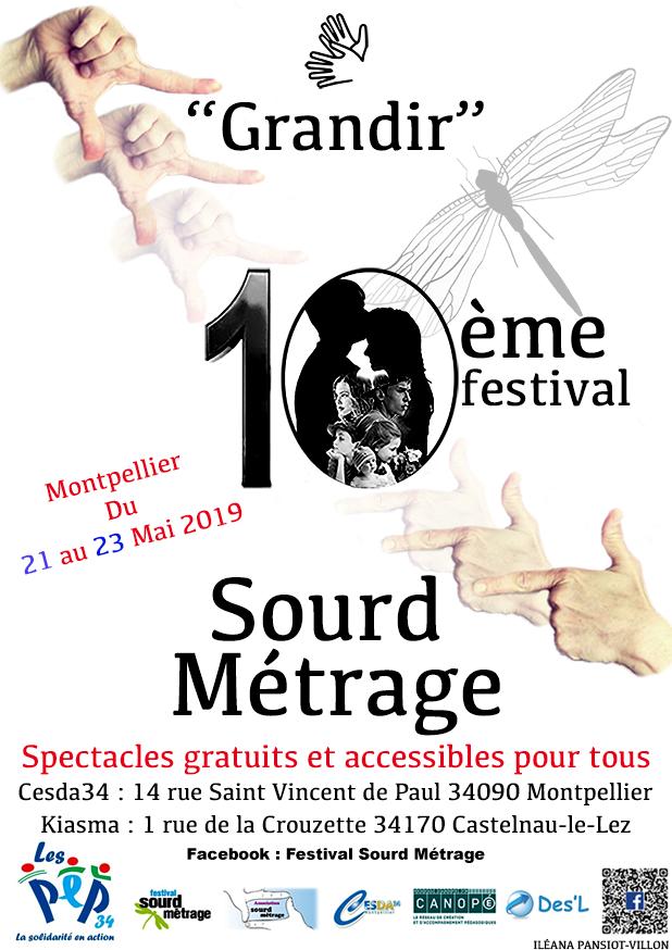 Festival du Sourd Métrage du 21 au 23 mai